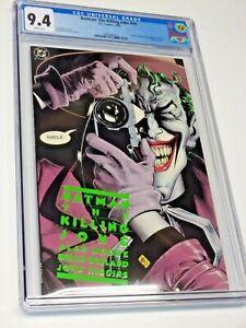 BATMAN : The Killing Joke CGC 9.4 White Pages 1st Print DC Rare High Grade