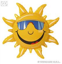 soleil, gonflable 60 cm, Hawaii, Fête, Plage déco, motif