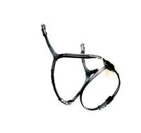 FSS Anatomic Freeform MonoCrown Grackle Bridle Padded Mexican Figure 8 Twin Buck