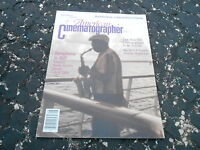 AUG 1990 - AMERICAN CINEMATOGRAPHER vintage movie magazine SYMPHONY IN RIFF