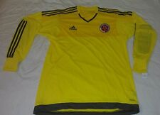 SELECCION COLOMBIA GOALKEEPER ADIDAS XL ADIZERO DAVID OSPINA JERSEY JAMES