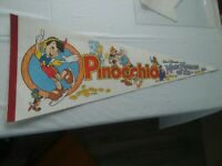 Vintage 1980's Pinocchio Walt Disney's Magic Kingdom on Ice by Kenneth Feld