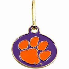 NEW! Clemson Tigers U Can Zip It Gym Bag, Luggage, Jacket, Purse Zipper Pull