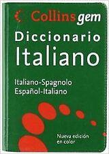 Diccionario Gem Italiano-Español. NUEVO. Nacional URGENTE/Internac. económico. D