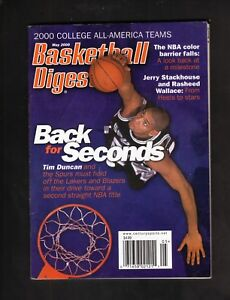 Tim Duncan--San Antonio Spurs--2000 Basketball Digest
