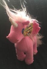 Neopets 2007 Pink Uni Plush Toy Snap Creative