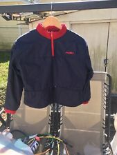 Vintage FUBU Quarter Zip Fleece Pullover Reversible Jacket