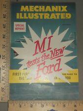 1949 Ford Brochure Folder Original Mechanix Illustrated