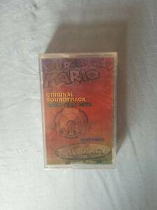 Super Mario 64 Original Soundtrack Greatest hits Cassette Tape Nintendo