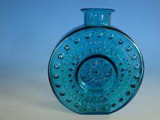 0113A1-434: Große WMF Glas Vase Sonnenrad 70er Jahre