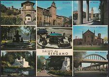 AD5844 Saluti da Bergamo - Vedute - Cartolina postale - Postcard
