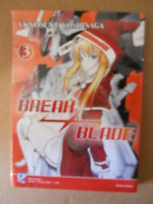 Break Blade Vol.3 Yunosuke Yoshinaga 2009 Gp Manga [G483]