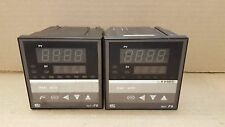 RKC Instruments inc. REX-F9 Electronic Temperature Controller (lot of 2)
