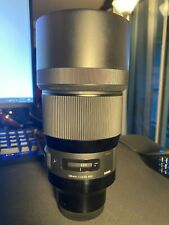 Sigma 135mm F/1.8 Art lens for Sony E mount cameras - Excellent condition