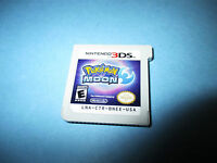 Pokemon Moon (Nintendo 3DS) XL 2DS Game