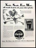 1941 Coke Coca Cola Soda Vintage Advertisement Print Art Ad Poster LG87