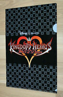 Kingdom Hearts 358/2 Days Promo Hefter Mappe File Clear Square Enix Disney