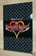Kingdom Hearts 358/2 days PROMO fascicolatore con cucitrice cartella file Clear Square Enix DISNEY
