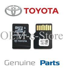 2013 2014 Toyota Camry Tacoma GPS Navigation Micro SD Card US Canada Map Genuine