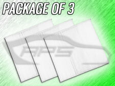 C36156 CABIN AIR FILTER FOR DODGE DURANGO JEEP GRAND CHEROKEE - PACKAGE OF 3