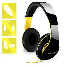 DESIGN Stereo Kopfhörer FANTEC SHP-250AJ schwarz/gelb CD TV Audio & HiFi MP3