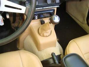 TRIUMPH  TR6 LEATHER  CONSOLE DASH SUPPORT COVER & SHIFT BOOT COMBO