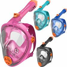 AQUA-SPEED Schnorchelmaske Kinder Tauchmaske Vollmaske Taucherbrille Vollgesicht