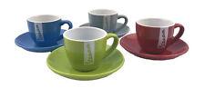 Vespa Espresso Tassen Set 2.Wahl 4 teilig Mokka Tassen Grün Blau Rot Grau