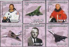 Mosambik 2489-2494 postfris MNH 2002 Persoonlijkheden
