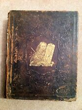 HOLY BIBLE 1860 OLD & NEW TESTAMENTS William Harding Philadelphia