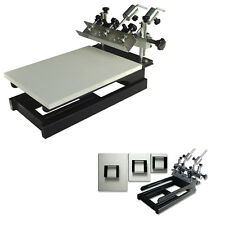 1 Color 3 Station Printer Screen Printing Micro-adjust Press Machine /Equipment