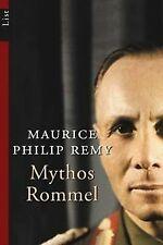Mythos Rommel von Maurice Philip Remy | Buch | Zustand gut