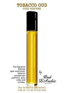 TOM TOBACCO OUD Pure Perfume Oil 12ml PREMIUM GRADE ALTERNATIVE Retail Boxed