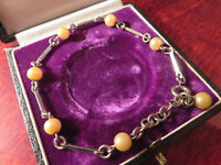 Tolles Silber Armband Kugeln Perlen Modern Vintage 70er 80er Retro Schlicht Chic