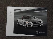 2014 MERCEDES BENZ SL Class Sales Brochure Manual FACTORY OEM BOOK 14 DEAL