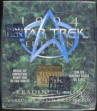 Star Trek Master Series Ii Trading Cards. Unopened box.