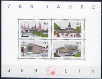 ALEMANIA BERLIN GERMANY 1987 MNH SC.9N537 Berlin 750th annv.S.Sheet