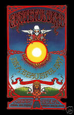 Classic Rock: Grateful Dead in  Hawaii Concert Poster Circa 1969