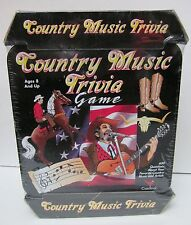 Country Music Trivia Game 1999 Factory Sealed In Collectible Tin Unopened Nib