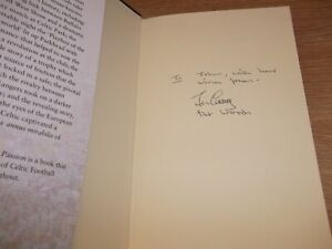 Book. Football Celtic Pride and Passion Signed Jim Craig & Pat Woods 1st 2013 HB