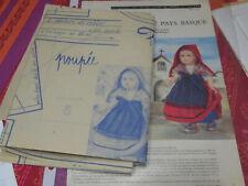 PAGE ET PATRON ORIGINALES de  MODES ET TRAVAUX   AOUT 1959