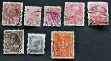 8 x Österreich Kaiserliche Königliche Österreichische Post  alt Kreuzer + Heller