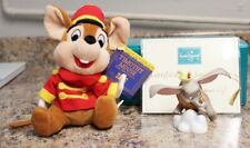 WDCC When I See An Elephant Fly Dumbo & Timothy Mouse Ornament & Plush Disney