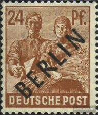 Berlin (West) 9 postfrisch 1948 Schwarzaufdruck
