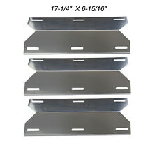Charmglow Barbecue Gas Grill Replacement Stainless Steel Heat Plate SPX241-3pack