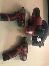 Milwaukee m12 Set Circular Saw (FUEL) Impact Driver And Drill