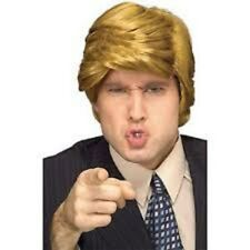 The Billionaire Donald Trump Politician Businessan Men Costume Wig