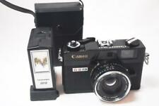 [EXC+++] Canon Canonet QL17 GⅢ Black Rangefinder {FULLY WORKS}/40mm F1.7 w/Flash