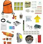 3 Day Emergency Earthquake Disaster Kit Food Water Whistle Bag Sack Pack 72 Hour