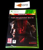 METAL GEAR SOLID V 5 THE PHANTOM PAIN Xbox 360 PAL-España NEW Nuevo xbox360